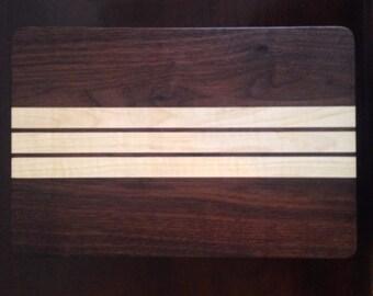 Walnut/Maple Cutting Board