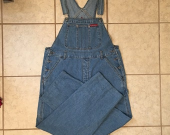 90s grunge overalls from NO BOUNDARIES