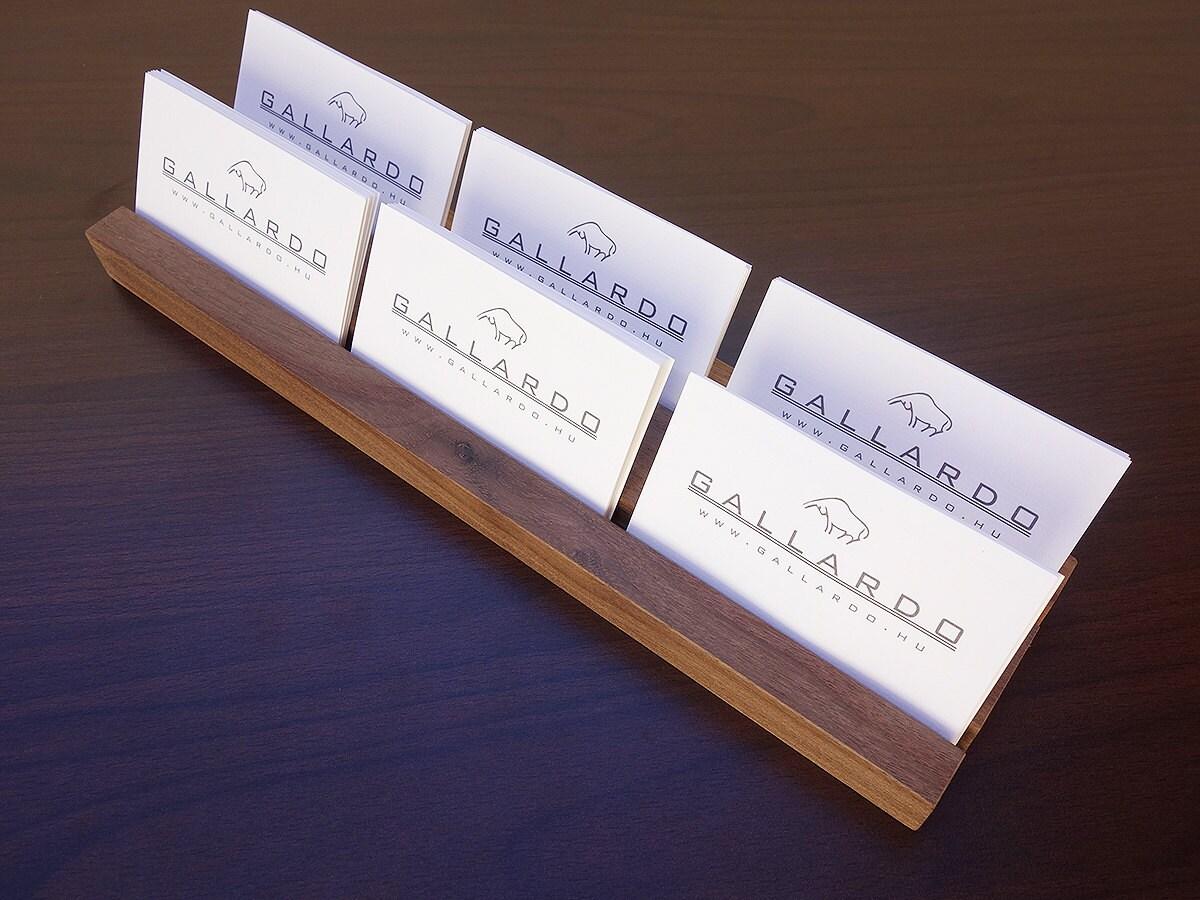 Multiple wood business card holder wooden card holder wood multiple wood business card holder wooden card holder wood business card stand wooden magicingreecefo Images