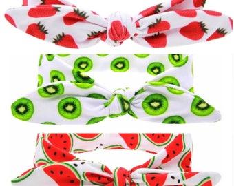 Very Delicious Summer Fruits Headband/Headwrap