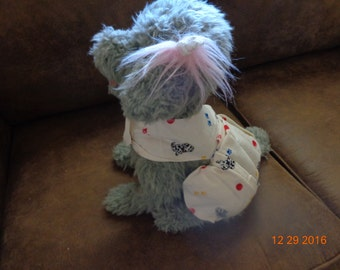Pet Comfort Vest-Extra Large-dog/paw print/ball