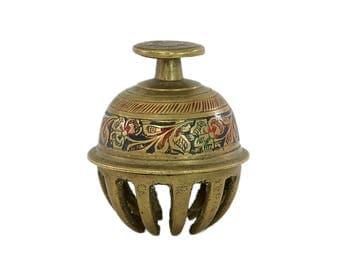 Vintage Brass Bell, Brass Claw Bell, Vintage Claw Bell, Dinner Bell, Table Bell, Brass HandBell, Brass Decor, Desk Accessories, Boho Decor