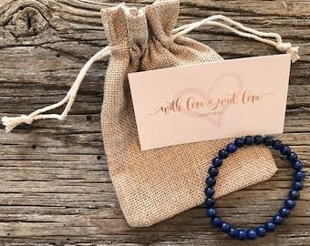 Lapis Lazuli Healing Bracelet