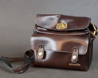 Original Minolta Vintage Camera Bag