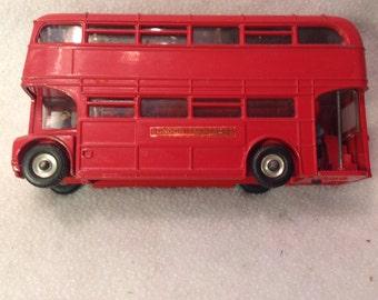 Die Cast metal London Bus, made in England
