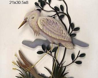 Stalking White Heron - CW281