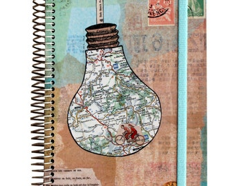 Travel notebook Capsule Map