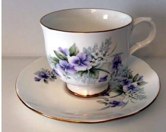 Sadler Wellington Tea Cup and Saucer