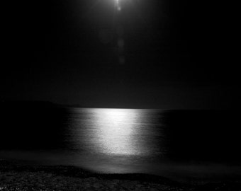 Moonlit beach -