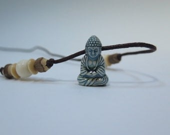 Long corded Buddha with adjustable length