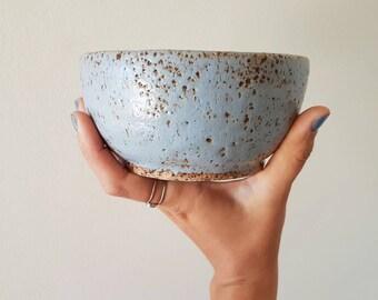 Grey rustic bowl