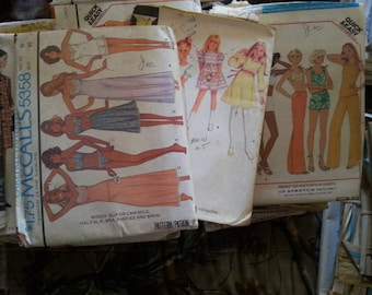 Lot of 66 Vintage McCall's Sewing Patterns