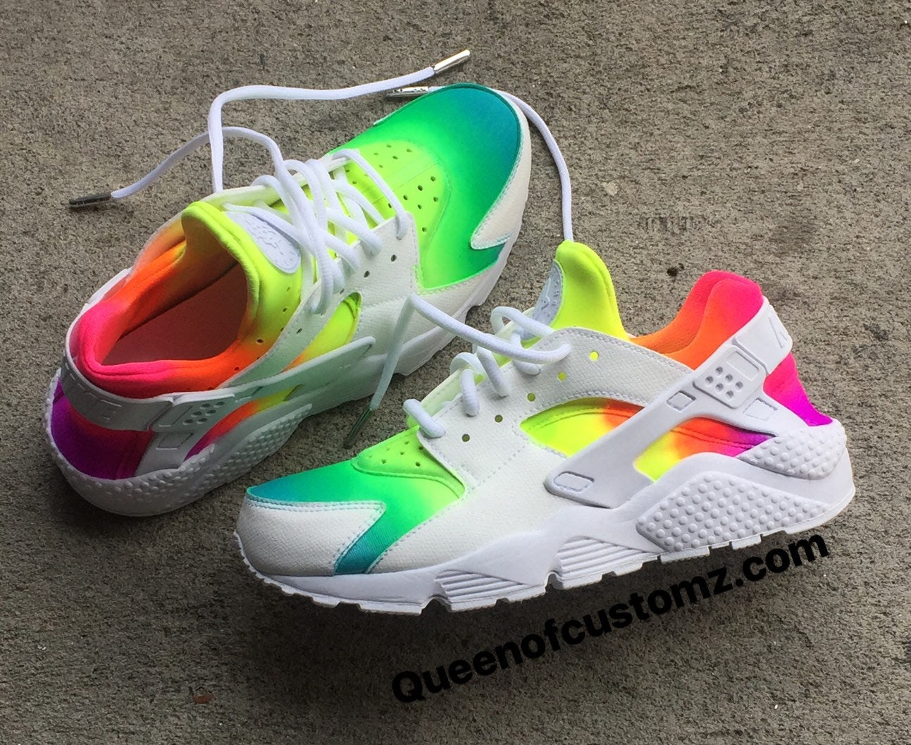 how to make rainbow huaraches