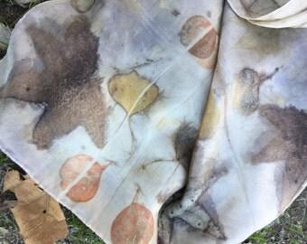 Avacado Eco Silk Scarf