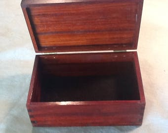 Father's  Day Gift.  Men's Valet made out of beautiful African Padauk hard wood..  Read about Padauk.