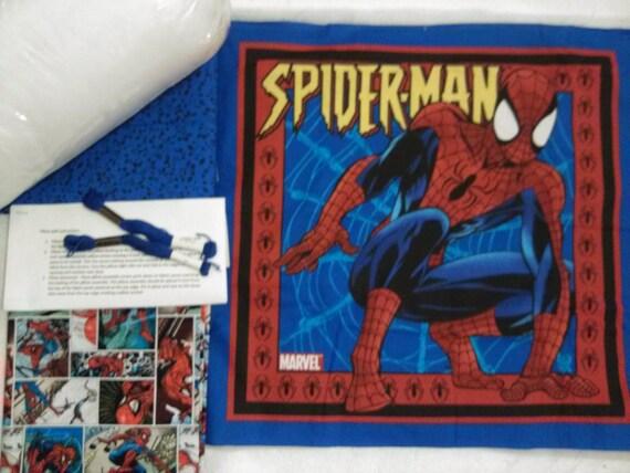 Spiderman - Pillow Quilt Kit 105
