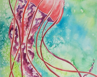 Watercolor Jelly Prints