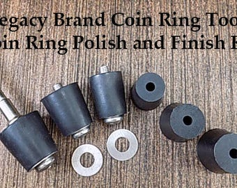 ON SALE: Coin Ring Edge Polishing and Finish Kit