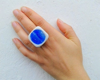 "Ring ""Acqua"""