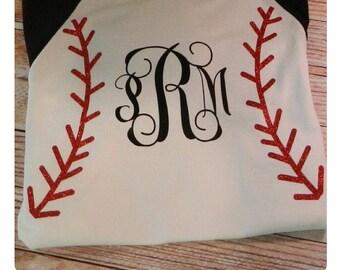 Baseball/softball Raglan Tee
