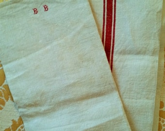 German Redwork Vintage Laundry Bag