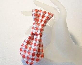 Tie White/Pink