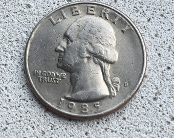 1985 Washington Quarter
