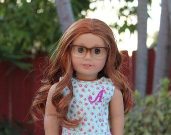 Customizable Applique Tanktop ~ 18 inch dolls ~ American Girl Dolls