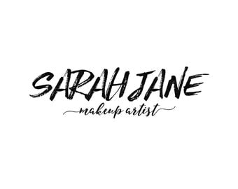 Makeup Artist Logo / Beauty Logo / Photography Logo / Blog Logo Header / Name Logo / Modern Logo / Cute Logo / Blog header / Wedding Logo
