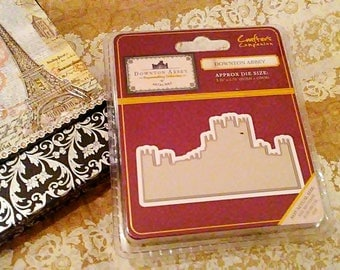 Crafter's Companion Downton Abbey Metal Cutting Templates ~Downton Abbey~