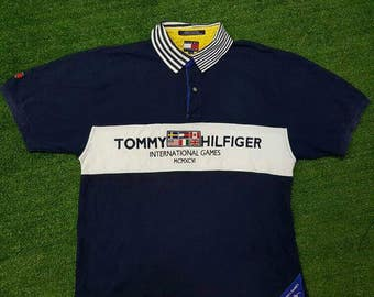 Vintage Rare Tommy Hilfiger International Games