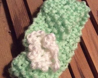 Seed Knit Headband  Hand Knitted by Grandma B