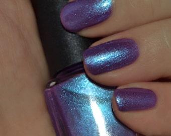 Masquerade - Blue Red Purple Multichrome Color Shifting Nail Polish