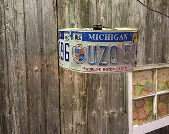 Hanging Licence Plate Lamp