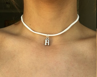 "Nice ""R"" Necklace"