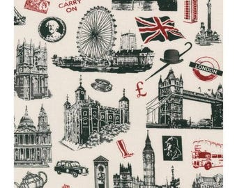 Cotton Fabric Quilting All About London