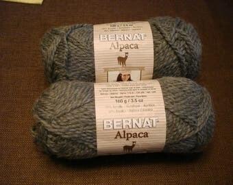 BULKY - Bernat Bulky Alpaca - Soft Grey 93042
