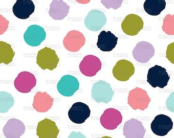 Spots - Good Cheer Fabric by littlearrowdesigncompany