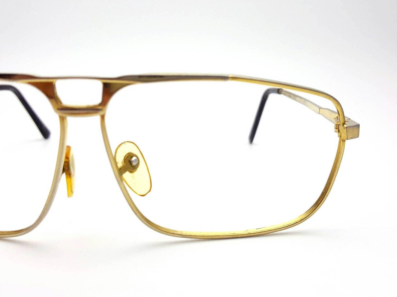 09ae764da08 Aviator Gold Tone Metal Frames Only Eyeglasses Vintage from the 70s Glasses  Frames Eyewear Nerd Hipster