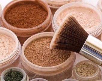 Natural Vegan Mineral Foundation, Loose Powder, Full Coverage