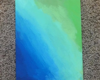 Small Abstract Painting (Canvas Panel)