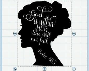 Psalm 46:5 SVG file