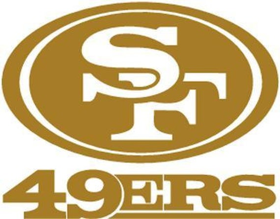 Vinyl Decal Sticker - San Francisco 49ers Decal for Windows, Cars, Laptops, Macbook, Yeti, Coolers, Mugs etc