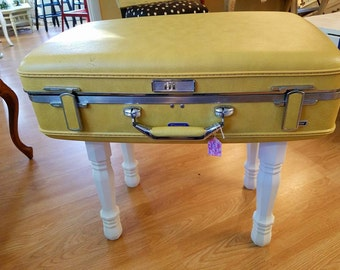 Vintage Suitcase Table