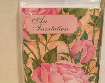 Party Invitations 16 cards and Envelopes in original packages