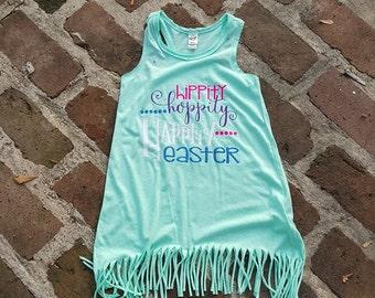 Hippity Hoppity Happity Easter Dress
