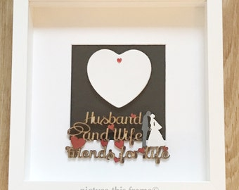 Spouse Love Frame/Valentines/Wedding/Anniversary/Gift