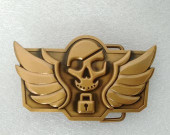 Jesse Mccree Belt Buckle for OW Blackwatch Cosplay