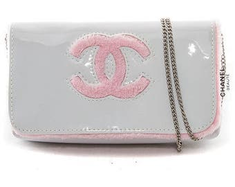 Chanel Beaute Vintage Beauty Cosmetic Chain Bag - 1990s Bag - Original Authentic - Stored Away and Never Used