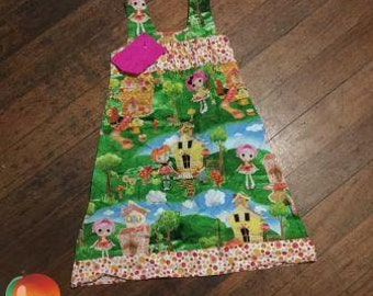 Lalaloopsy Dress ~ Size 5